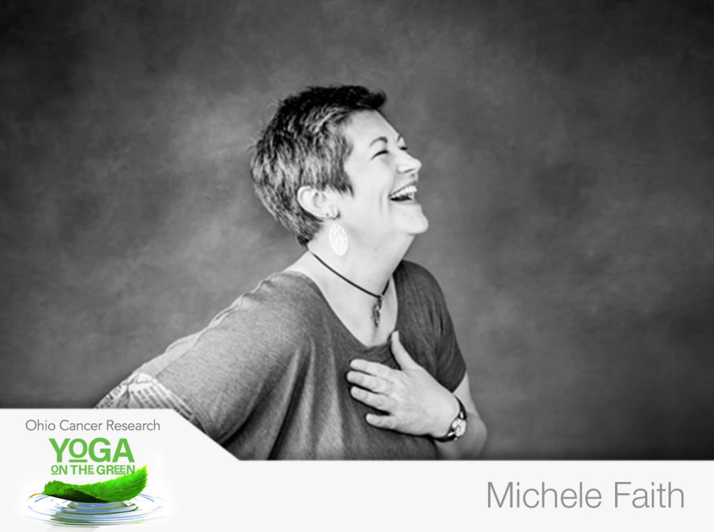 Michele Faith At Yoga On The Green