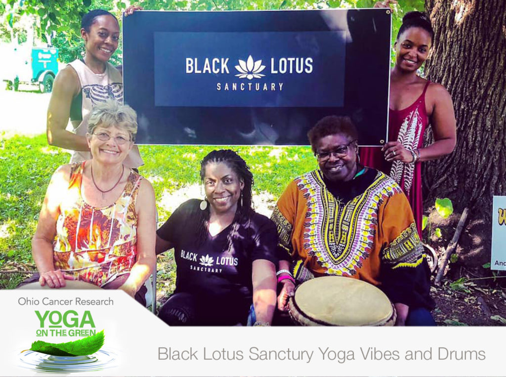 Black Lotus Sanctuary Yoga Vibes and Drums