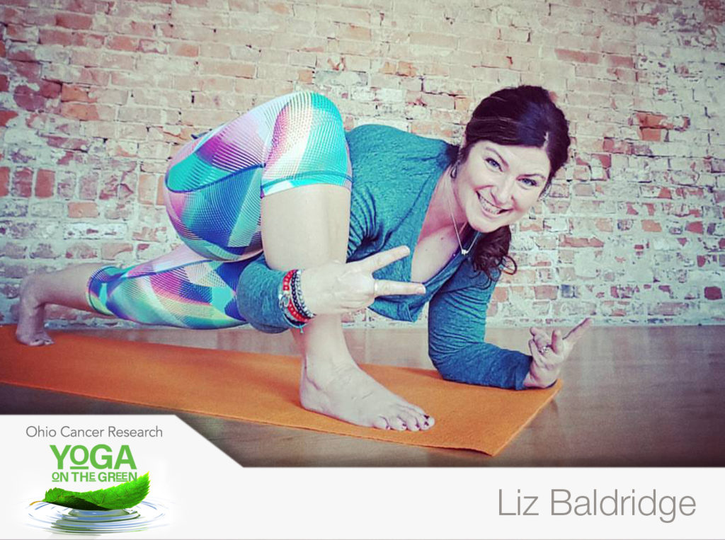 Liz Baldridge At Yoga On The Green